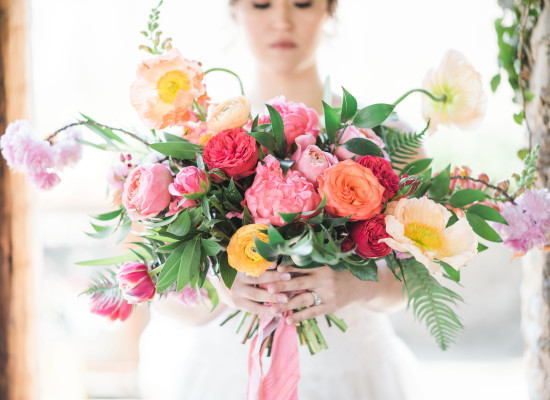 Colorful Romance Wedding Inspiration Shoot